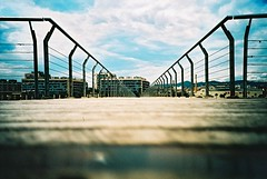 summer sunshine on elite chrome (haribogreen) Tags: colour film 35mm lomo lca xpro lomography saturated kodak crossprocess analogue elitechrome vignette brightcolour filmisnotdead believeinfilm