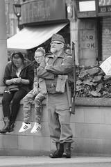 Rotherham Vintage Hop June 2016 (27) (Chris.,) Tags: blackandwhite bw canon blackwhite dance war song crowd 1940s 1950s creativecommons hiphop polkadot rotherham homeguard allsaintssquare vintagehop queens90thbirthdaycelebration