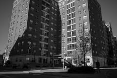 Embassy (patrickkuhl) Tags: street people blackandwhite building monochrome wisconsin architecture blackwhite shadows 28mm streetphotography embassy madison uwmadison gr madisonwi ricoh ricohgr wisco wisc
