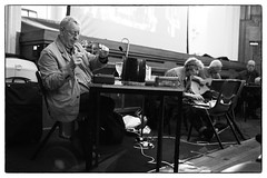 Alterations @ Portland Hall, University Of Westminster, London, 13th June 2016 (fabiolug) Tags: leica blackandwhite bw music london monochrome 35mm blackwhite concert live gig livemusic performance rangefinder summicron improvisation improv monochrom biancoenero alterations davidtoop leica35mm leicam 35mmsummicronasph leicasummicron steveberesford summicron35mmf2asph terryday 35mmf2summicronasph petercusack summicronm35mmf2asph mmonochrom leicammonochrom leicamonochrom unpredictableseries alterationsfestival