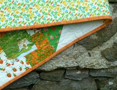 Strawberry Fields Binding 2 (alidiza) Tags: quilt patchwork briarrose heatherross