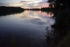 Richmond River at Dungarubba (dustaway) Tags: reflections sundown australia nsw waterscape cloudreflections northernrivers richmondriver richmondvalley dungarubba