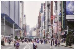 Ginza, Tokyo (280516) (n._y_c) Tags: street city japan architecture tokyo ginza cityscape fuji x streetscape xseries fujifim xt1 xf1855