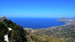 Panorama da Erice (danars) Tags: panorama mare acqua sicilia erice trapani