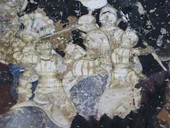 Le tournoi, fresques de Pisanello (XVe), salle des Princes, Corte Vecchia, Palais ducal, Mantoue, province de Mantoue, Lombardie, Italie. (byb64 (en voyage jusqu'au 09-10)) Tags: plaza italien italy europa europe italia place roman platz eu battle palace mantova palais palazzo 13th lombardia 15th affreschi fresco italie palazzoducale townsquare mantua ue medioevo fresko palacio fresque bataille gonzaga batalla lombardy frescos lombardie frescoes moyenage lombardei gonzague quattrocento mantoue xiiie fresques edadmedia xve cortevecchia mantoa chevalerie pisanello provinciadimantova bonacolsi sinopia palazzodelcapitano palazzobonacolsi pliazza provincedemantoue batailledelouvezerp tristanenprose