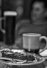 (Don't feel) Guilty (at all) Pleasures (Tracey Rennie) Tags: beer pie treat 2552 52weekchallenge weearnedit