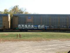 10-08-10 (27) (This Guy...) Tags: road railroad car train graffiti box graf rail rr traincar boxcar graff 2010