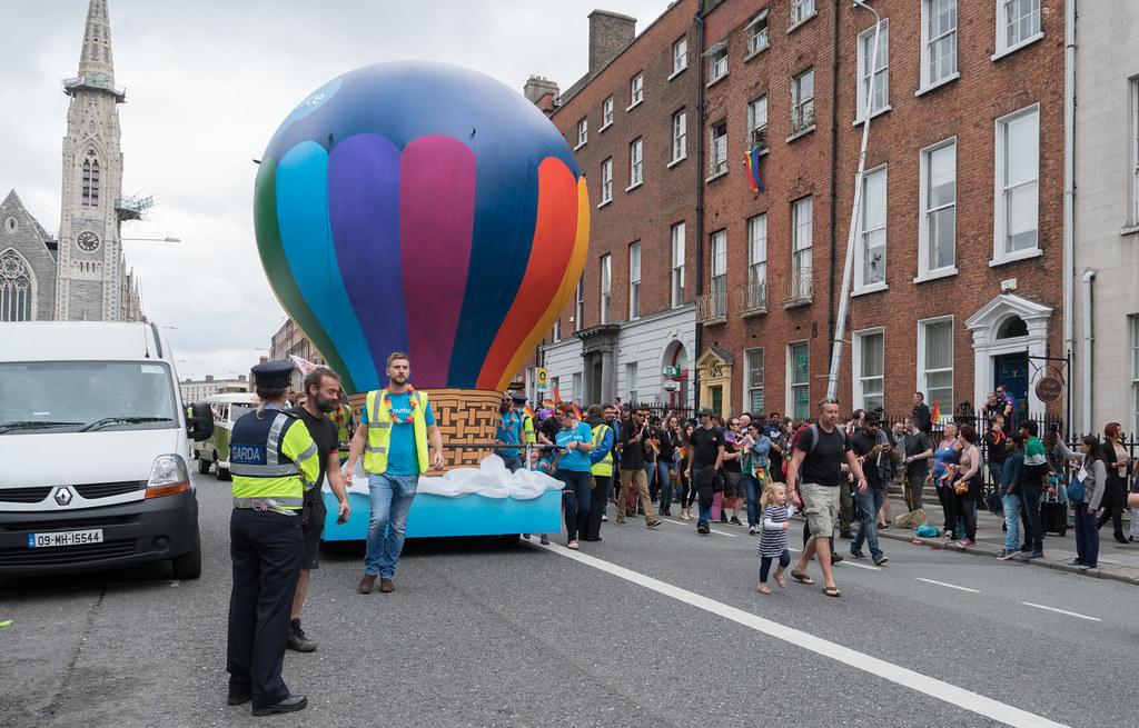 PRIDE PARADE AND FESTIVAL [DUBLIN 2016]-118180