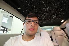 Selfie with the starz (Joe Folino ( LoopRunner )) Tags: roof star rolls royce headliner starlight