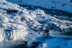 (dawvon) Tags: iceland gullfoss landscape waterfall travel nature nordic ice suðurland europe hvítá snow goldenwaterfall hvítáriver lýðveldiðísland republicoficeland southernregion ísland south