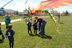 Dragon kite eating Domonic (Aggiewelshes) Tags: soccer may grouppicture 2013 dragonkite teamdragons