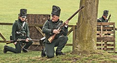 Napoleonic Weekend 2013 (Fishfingers & Custard) Tags: hat soldier army pull uniform shoot shot smoke sony rifle soldiers shooting aim alpha bang wollatonpark crouch trigger regiment alphamale wollatonhall 2013 allrightsreserved fishfingerscustard a300700 allrightsreservedworldwidepleasedonotuseanyofmyimageswithoutaskingformypermission napoleonicwarweekend