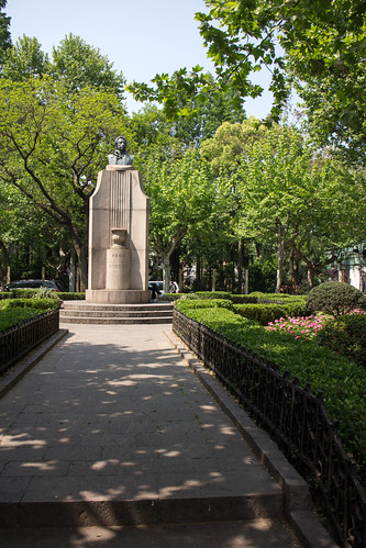 Pushkin Monument - Shanghai (5)