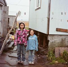 68780009.jpg (lauritadianita) Tags: houses homes girls smile grass village native sneakers nativeamerican wetlands boardwalk coats aboriginal blackhair jackets indigenous indgena tennisshoes ykdelta westernalaska firstpeoples woodhouses alaskanative youngladies laundrylines hooperbay yukonkuskokwimdelta amerindio nativegirls yupikvillage firstalaskan cupikregion naparyarymiut yupikregion alaskanativegirls alaskanativepeople