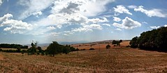 Custodiscimi nella tua pace (simoneaversano) Tags: light summer sky panorama sun sunlight nature sunshine clouds landscape landscapes nuvole estate pano country farming natura hills campagna cielo sole paesaggi luce paesaggio colline fieno castelfrancoinmiscano uploaded:by=flickrmobile flickriosapp:filter=nofilter