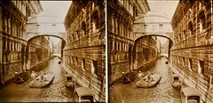 Italy Bridge of Sighs Venice c1910 stereo (AndyBrii) Tags: camera italy stereo richard 1910 viewer slides 1908 transparencies verascope taxiphote