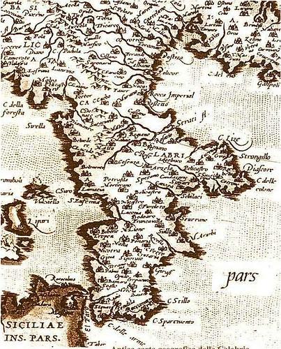 Calabria  - Antica Carta