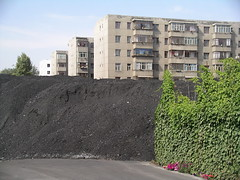 Coal (Ciska van Geer) Tags: china homes living town xinjiang coal urumqi appartments