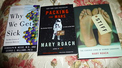 Summer Reading 2013 (eileansiar) Tags: travel summer home reading book space science panasonic medicine sickness corpse evolutionary nonfiction eileansiar zs19 dmczs19