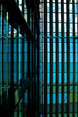 365.156 - Roof Slats (Tim Stubbs) Tags: roof silhouette germany stuttgart olympus shutters 365 messe day156 2013 365156 3652013 epl3 week23theme olympus1442f3556iirmsc