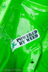Powered By Weed (Brian O'Mahony) Tags: green castle classic car by wales vw golf volkswagen bay weed north engine powered marki canon2470f28l bodelwyddan brianomahony canon40d thephotographiceye