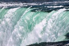Over the Falls (smileyLife) Tags: blue fall water up lens close zoom vivid niagara falls