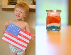 Desktop8 (chris jennifer johnson) Tags: seattle blue boy red summer white kids fun kid spring nikon toddler warm flag craft son indoor patriotic wa d5100 nikond5100