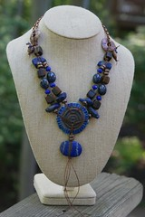 Ancient Protector Lapis Necklace - Blue - Bohemian Jewelry, Earthy Urban Chic Jewelry by YaY Jewelry 2 (Kristin Oppold / YaY! Jewelry) Tags: wood minnesota modern necklace jewelry earthy organic bohemian lapis minnestoa urbanchic yayjewelry kristinoppold