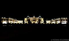 Branicki Palace, Bialystok, Poland (MonikaRozanska.com) Tags: light night poland palace lit lowkey bialystok branicki