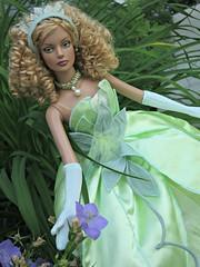 Garden Nymph1 (annesstuff) Tags: flowers garden doll sydney envy fashiondoll nymph tonnerdoll roberttonner annesstuff