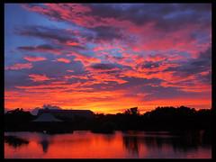 _001 (Ache_Hsieh) Tags: blue sunset red sky cloud water digital lumix olympus panasonic  20mm  yello omd   f17 mzd em5