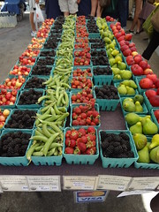 Beautiful produce at Eugene Farmers Market (hewy) Tags: food nw eugene fav