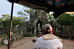 """By TucTuc through the """"Temple City"""" of Angkor (Andreas Mezger - Art Photography) Tags: sky orange berlin andy water beautiful dave wonderful germany landscape temple bavaria photography amazing nice nikon kitten asia asien cambodia kambodscha sdostasien stuttgart nirvana south great sigma images andreas best east tokina professional business most siem reap excellent buy getty worst manual nikkor angkor sell wat better nofx impressive andi ost gettyimages highest kant grohl d300 sd junip d90 mezger superlativ andreasmezger"""