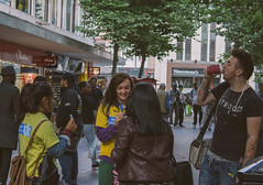 (Chris-Jackson) Tags: life street city people streets birmingham live candid crowd busy