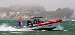 America's Cup 9 (NathanF) Tags: sanfrancisco newzealand fog bay alcatraz kiwi americascup 2013