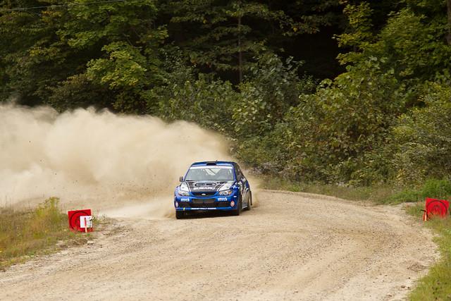 Patrick Richard & Rob Fagg - Rallye Défi 2013