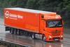 Mercedes Actros MP4 B 404EA - Gebruder Weiss (gylesnikki) Tags: orange truck kent artic mp4 m20 gebruderwiess