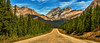 Escape to the North (Jeff Clow) Tags: road travel vacation holiday getaway parkway banff albertacanada roadway banffnationalpark icefieldsparkway escaperoute ©jeffrclow jeffclowphototour banffphototour
