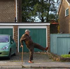 197-365 (Year 7) Silly walk (♔ Georgie R) Tags: sussex crawley sillywalk werehere hereio