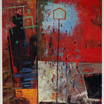 """<b>Trying to Figure it Out</b><br/> Arneson'63(Mixed Media)<a href=""""http://farm8.static.flickr.com/7385/10744977084_d41c631081_o.jpg"""" title=""""High res"""">∝</a>"""