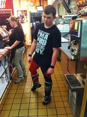 Joey Hodge. Pro Wrestling Guy.
