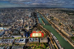 top down (dhmann photography) Tags: paris france view eiffel hdr hdraddicted