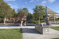 Hidden World playground, part of Bill Brown Sports Reserve, Fitzgibbon (Brisbane City Council) Tags: park family cooking playground parks barbecue fitzgibbon hiddenworld fitzgibbonparks hiddenworldplayground billbrownsportsreserve