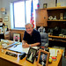Bill Hughes, Mayor of Murphy, N.C. in his office.