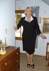 I Do Love Women in Suits (Laurette Victoria) Tags: wisconsin suit laurette silverhair laurettevictoria