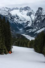 Talabfahrt Zwieselalm (9a) zum Panorama Jet Zwieselalm (Kretzsche93) Tags: schnee winter panorama snow ski cold west salzburg austria österreich jet dachstein oberösterreich januar zum annaberg kälte 2014 winterurlaub gosau wenig wärme 9a zwieselalm talabfahrt bergbahnen dachsteinwest schneekanonen rusbach