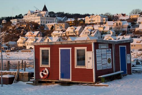 Mölle harbor in winter/vinter i hamnen