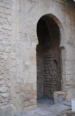 Puerta principal al castillo de Vejer de la Frontera.