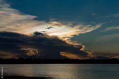 (George Amaro) Tags: sunset brazil sun nature brasil landscape landscapes amazon traveling paisagens amaznia
