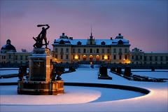 Drottningholm Palace (*Kicki*) Tags: drottningholm palace stockholm sweden royal royalpalace lheure bleue lheurebleue bluehour blåtimmen explore flickrexplore explored dusk unescoworldheritage unesco worldheritage världsarv